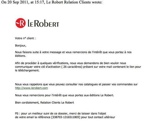 mod 232 le de lettre de remerciement client covering letter exle
