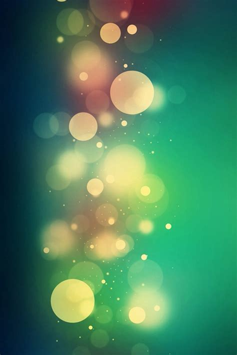 bokeh green wallpaper free iphone 5s 5c 5 4s 4 wallpapers to download