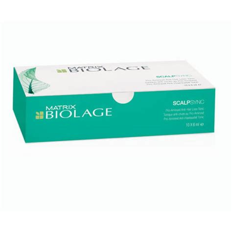 Matrix Biolage Scalp Therapie Anti Hair Loss 10x6ml Matrix Biolage Scalp Th 233 Rapie Aminexil Anti Hair Loss Tonic 10