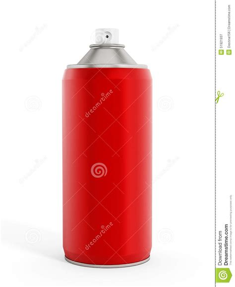 spray paint time spray paint can stock illustration image of metallic