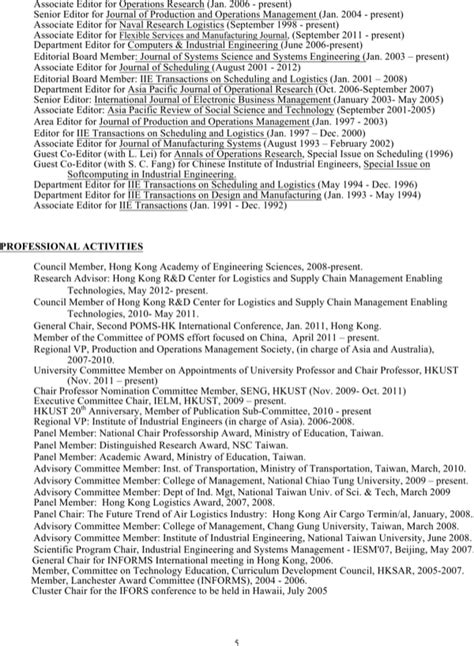Resume 1 5 Pages by Resume 1 For Free Page 5 Formtemplate