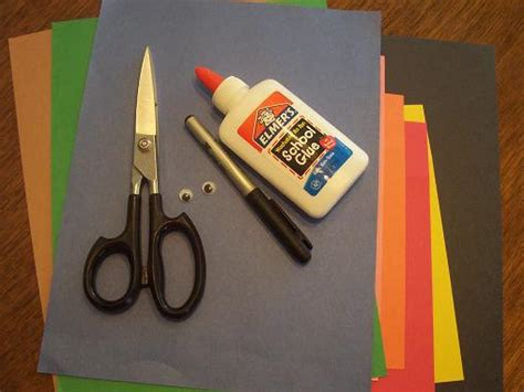 Crafts With Construction Paper And Glue - our crafts n things 187 archive 187 letter of the week