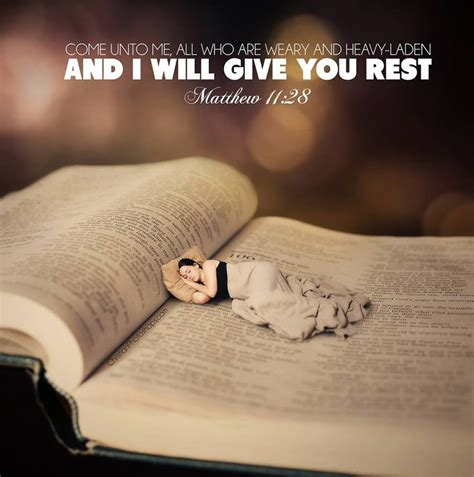 I Am A Heavy Sleeper by Matthew 11 28 30 Kristi S