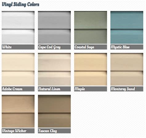 [vinyl siding colors]   28 images   mastic vinyl siding