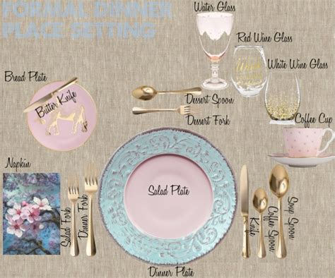 formal dinner place setting 10 steps to create a formal table setting decoholic