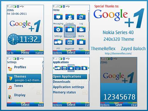 themes nokia google google 1 button theme for nokia s40 240 215 320 themereflex