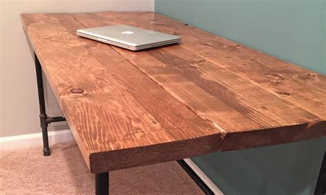 diy rustic computer desk diy how to build a desk