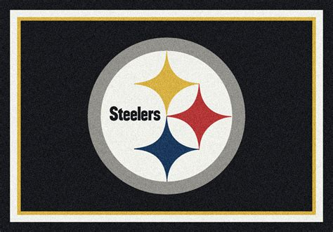 Pittsburgh Steelers Nfl Rugs Stargate Cinema Rugs Pittsburgh