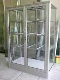 Lemari Kaca Jualan cara buat etalase sendiri alsubangkit aluminium