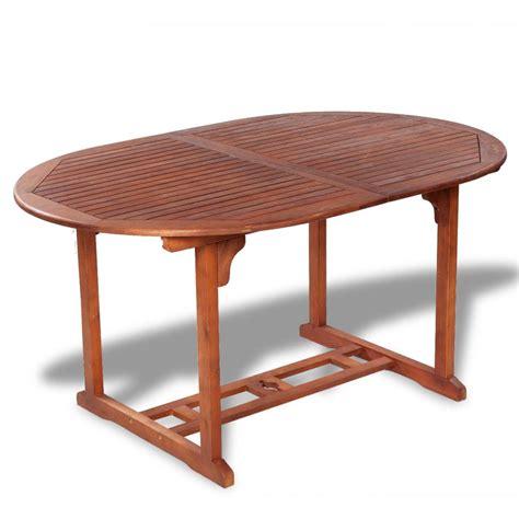 tavolo estendibile vidaxl tavolo da esterno estendibile in legno di acacia