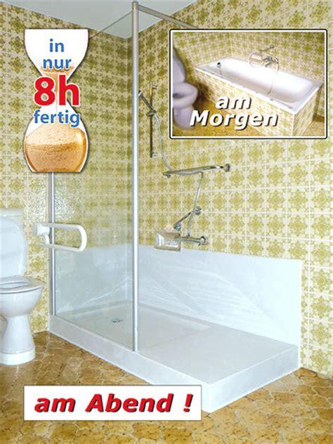 wanne zu dusche lieb neckarsulm in bad heizung eine klasse f 252 r sich