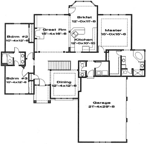 1970 house plans traditional style house plan 3 beds 2 5 baths 1970 sq ft plan 6 158