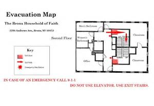Evacuation Floor Plan by Evacuation Plan Example Images