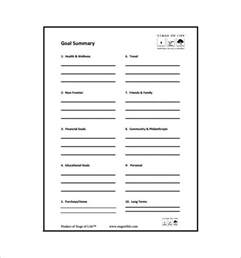 goal chart template goal chart template 9 free sle exle format