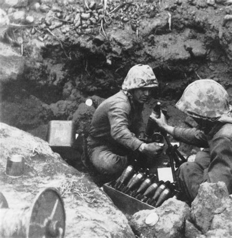 terry crews usmc 60mm mortar crews at iwo jima