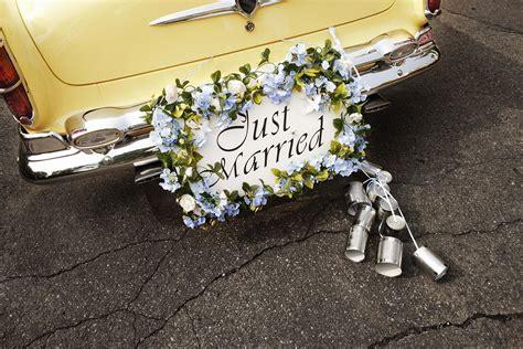 Hochzeitseinladung Auto by Auto Just Married Bildergalerie Hochzeitsportal24