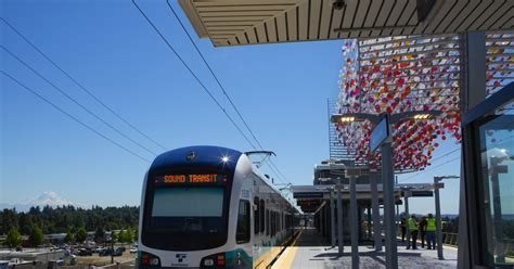 seattle light rail hours new angle lake light rail station to open sept 24 the