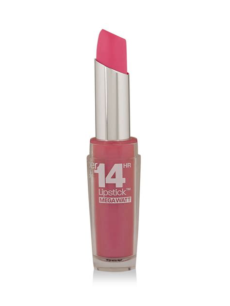 Maybelline Superstay 14hr Lipstick buy maybelline superstay megawatt 14hr lipstick for