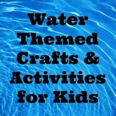 water themed crafts for 1000 images about water water everywhere on
