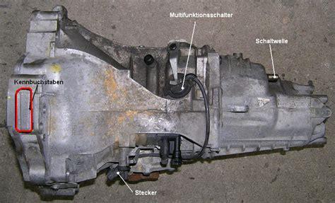 Audi Getriebekennbuchstabe by Multischalter Getriebe Kennbuchstabe Wo Finde Ich Den