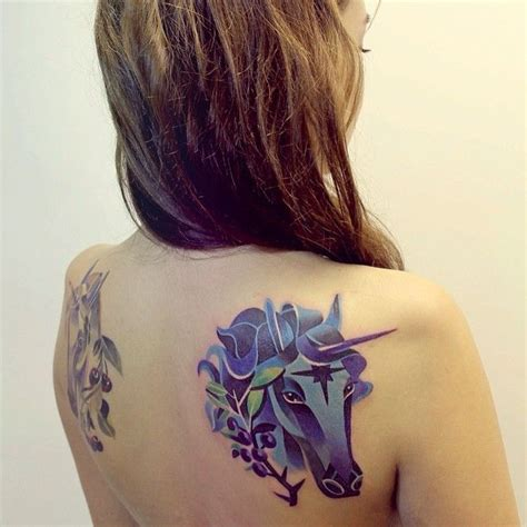 unicorn tattoo on shoulder get whimsical with these unicorn tattoos a mighty