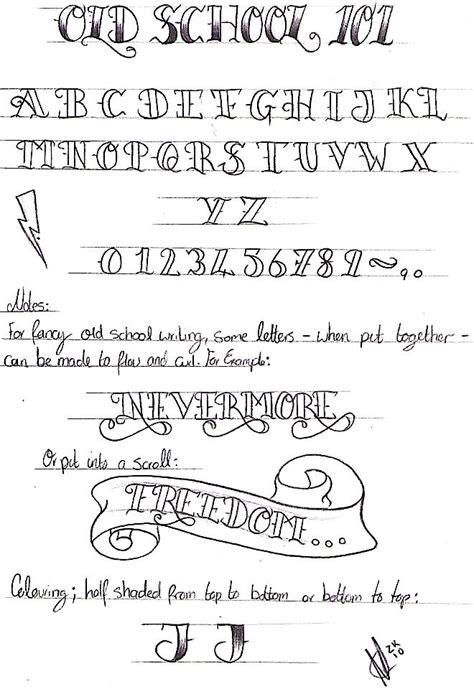 tattoo fonts old school best 25 school fonts ideas on