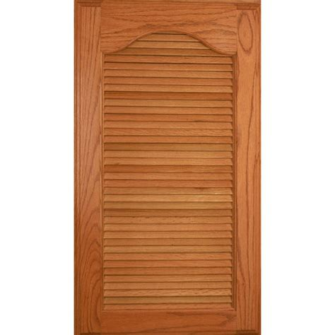 Louvered Cabinet Door Door Inserts 36 Wood Kitchen Cabinet Louver Panel Door Insert Kit In Four Species Of Wood By