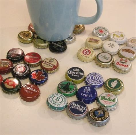 10 ways to recycle bottle caps