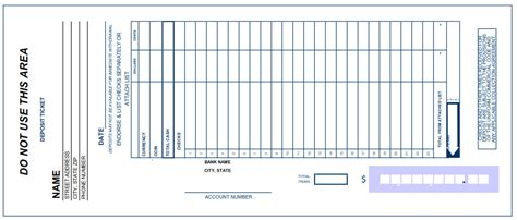 bank deposit receipt template 5 bank deposit slip templates excel xlts