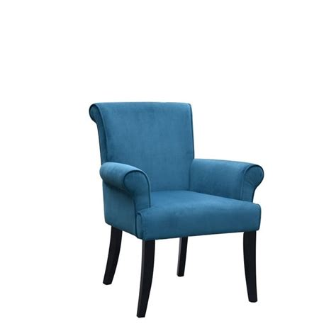 Blue Accent Chair Accent Chair In Blue 36261dblu01u