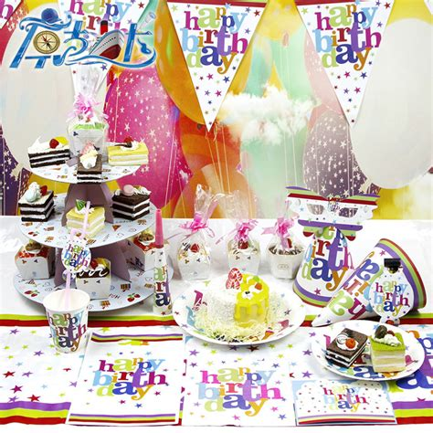 birthday themes dress up children s favorite party supplies carnival theme set