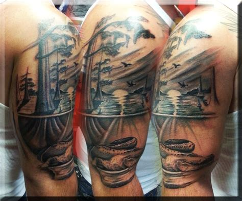 louisiana tattoos sw by artist greg couvillier at the studio