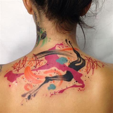 watercolor tattoos los angeles abstract watercolor on by los angeles