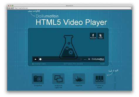 30 great html5 video audio players web graphic