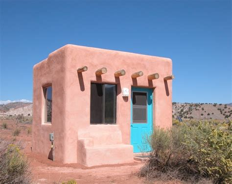 tiny adobe casita tiny house design
