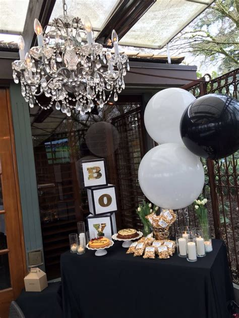 themes in black boy boy baby shower gold black and white themed this