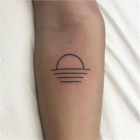sunrise tattoo best 25 sunset tattoos ideas on