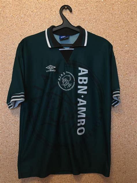 Fussballtor Kaufen 3795 by Ajax Away Fu 223 Trikots 1995 1996