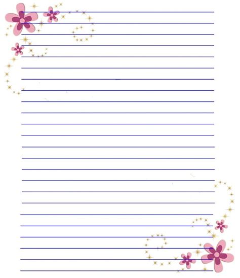 printable stationery note paper 668 best stationery images on pinterest award