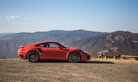 Porsche 911 Turbo Mobile by Red Cars Porsche 911 Turbo S 2017 Mountains Porsche 911