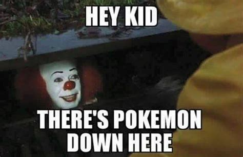 Pokemon Kid Meme - hey kid there s pokemon down here pokemon go memes picsmine