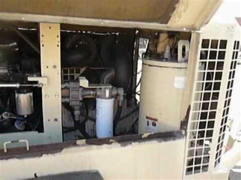 ingersoll rand  cfm air compressor wcummins turbo en youtube