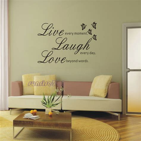 vinyl home decor 012c large black quote wall stickers vinyl home decor decal sticker decor decoration