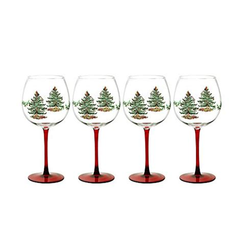 the best wine gifts spode christmas tree wine glasses