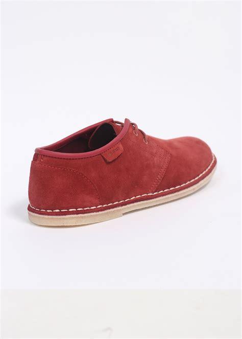 clarks originals jink shoes chilli