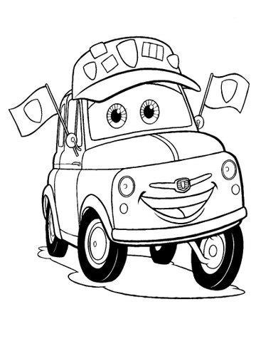 Belajar mewarnai gambar mobil terbaru