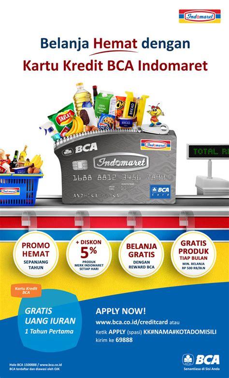 bca promo indomaret official kartu kredit bca indomaret