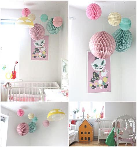 chambre enfant pastel d 233 corez la chambre de votre b 233 b 233 avec des pompons