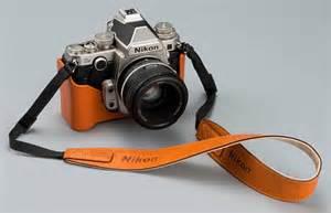 Nikon df with a leather case nikon rumors