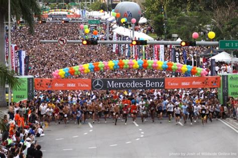 Mercedes Corporate Run Miami by Mercedes Corporate Run Sets New Participation Marks